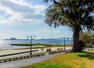 Coastal Mississippi scene