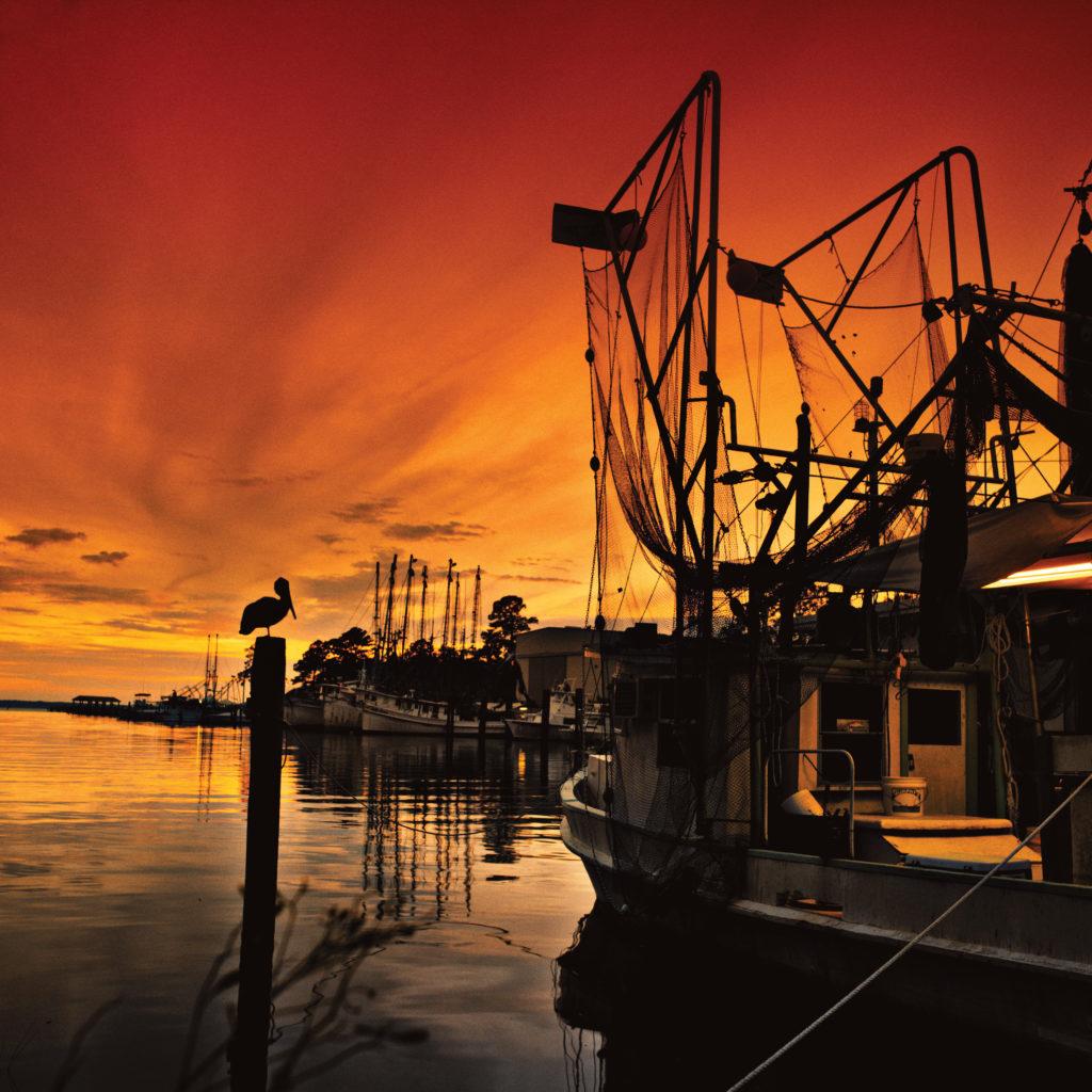 Shrimp boats Coastal Mississippi