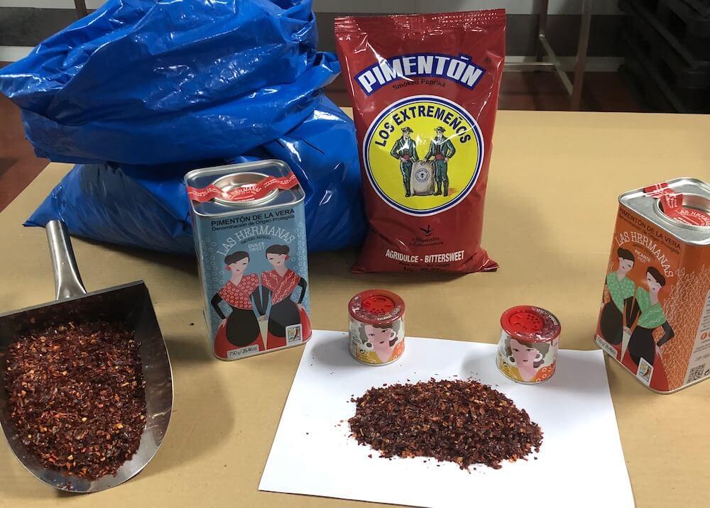 Las Hermanas paprika factory
