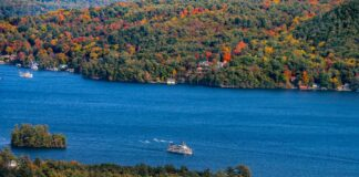 Lake George NY lead photo for Nov. 2020 itinerary