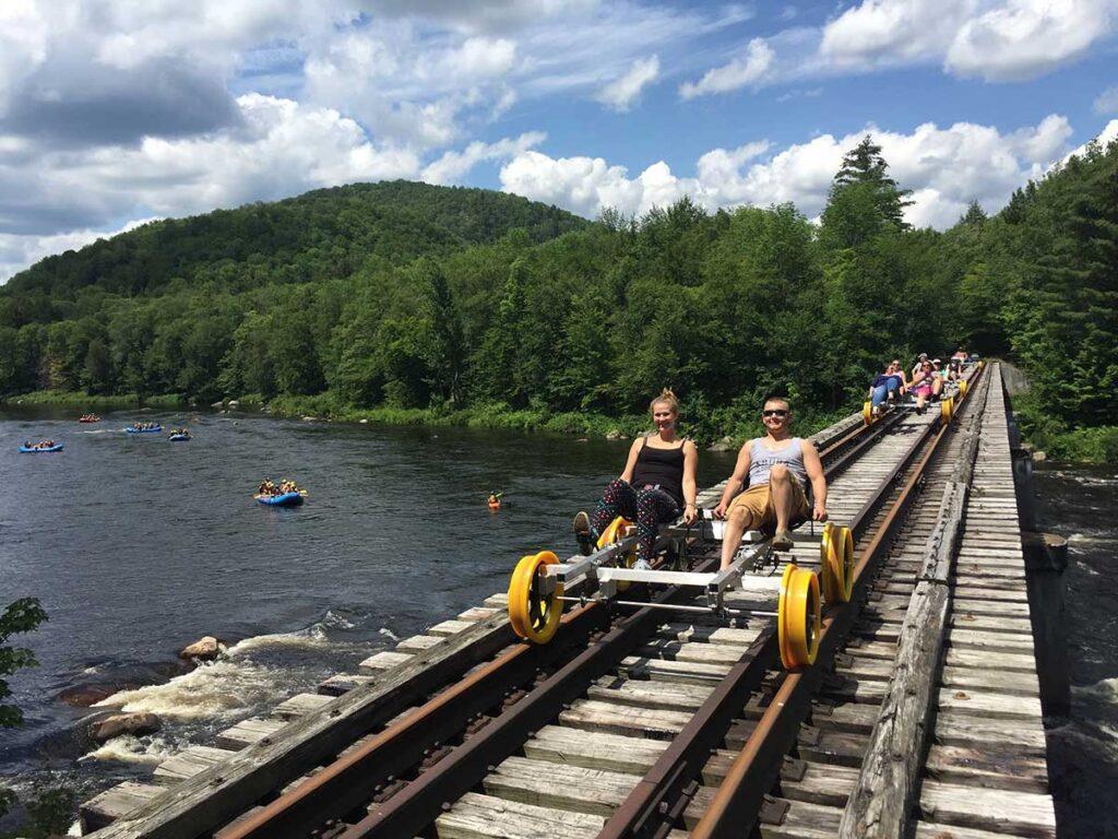 Lake George NY rev-rail