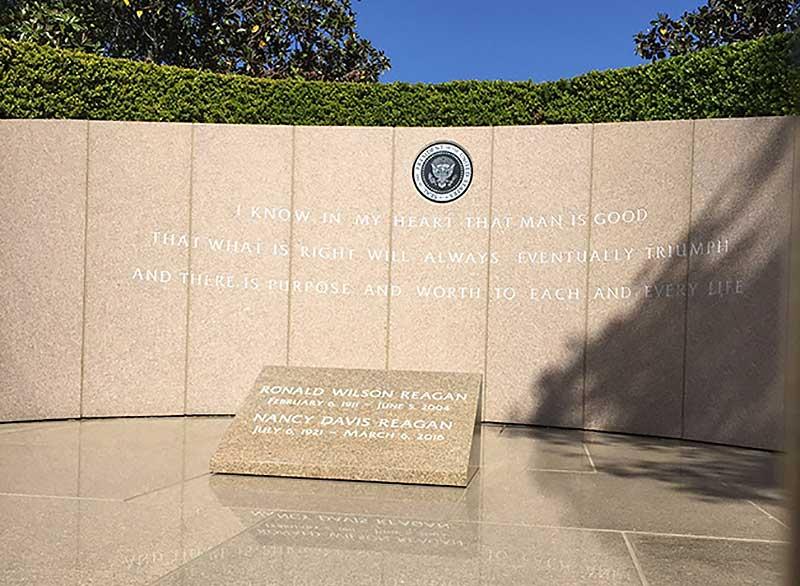 Ronald Reagan Memorial Site