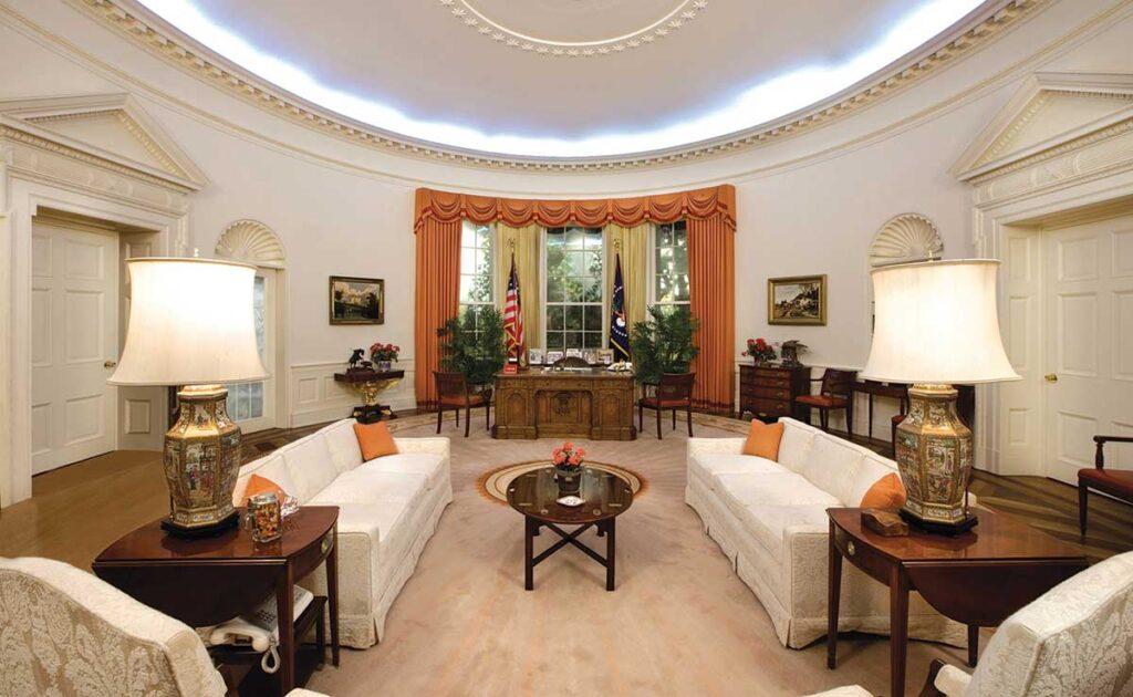 Reagan Oval Office