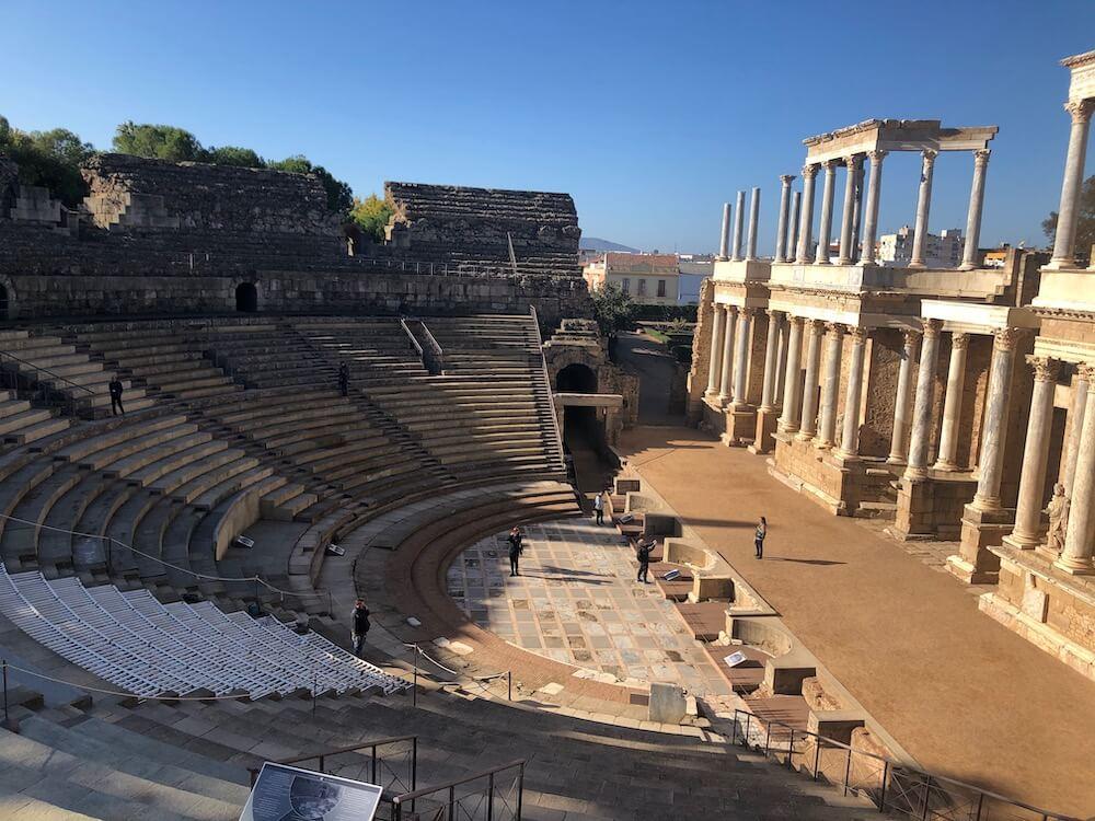 Roman Theatre, Mérida, Extremadura