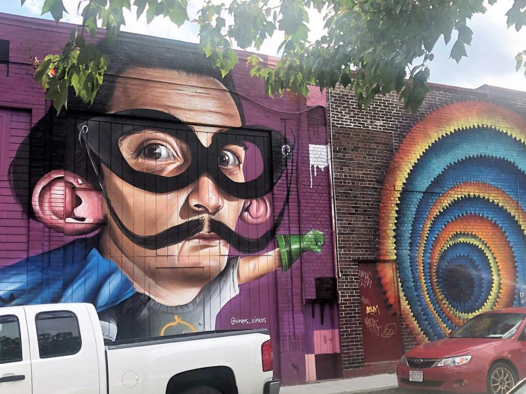 Mural in Salem by Holly Perry
