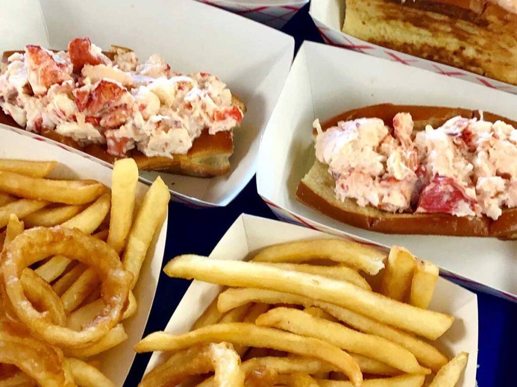Lobster rolls by Holly Perry
