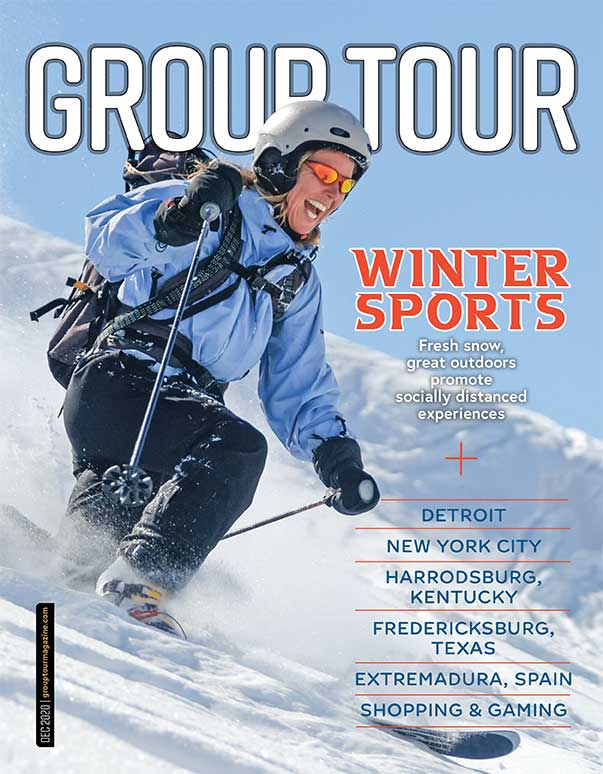 Winter 2020 issue of Group Tour Magazine