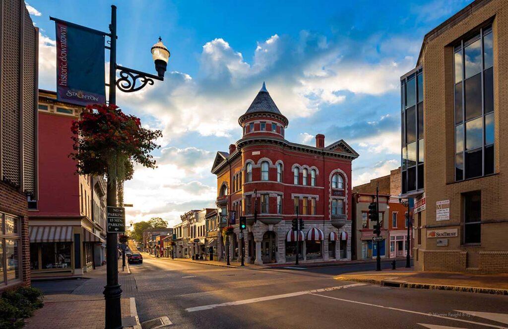 Marquis building Visit Staunton