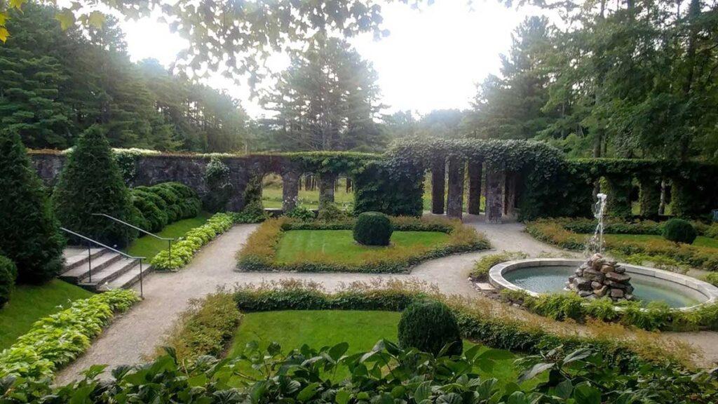 Edith Wharton Mount Gardens