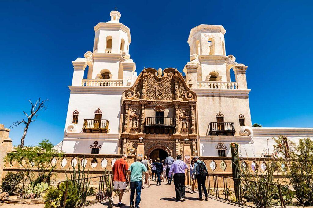 Visit Tucson - Mission San Xavier
