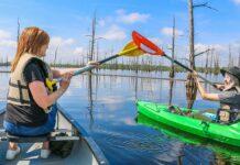 At Black Bayou Lake