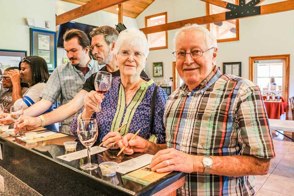 Wine Tasting at Landry Vineyards