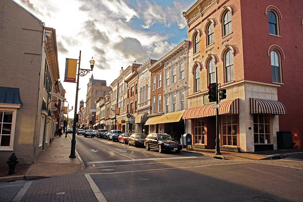Downtown Staunton