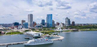 Milwaukee Skyline Credit VISIT Milwaukee and MKE Drones