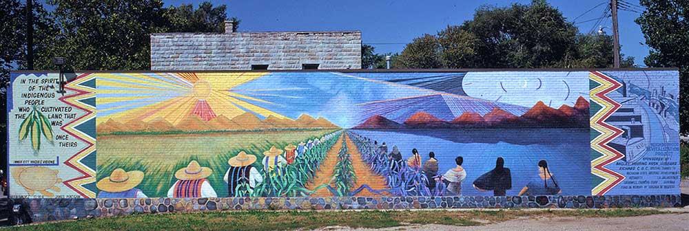 Detroit Metro CVB See Mexicantown CDC Vito Valdez Mural