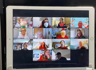 Tourism Lunch Bunch screenshot from Zoom